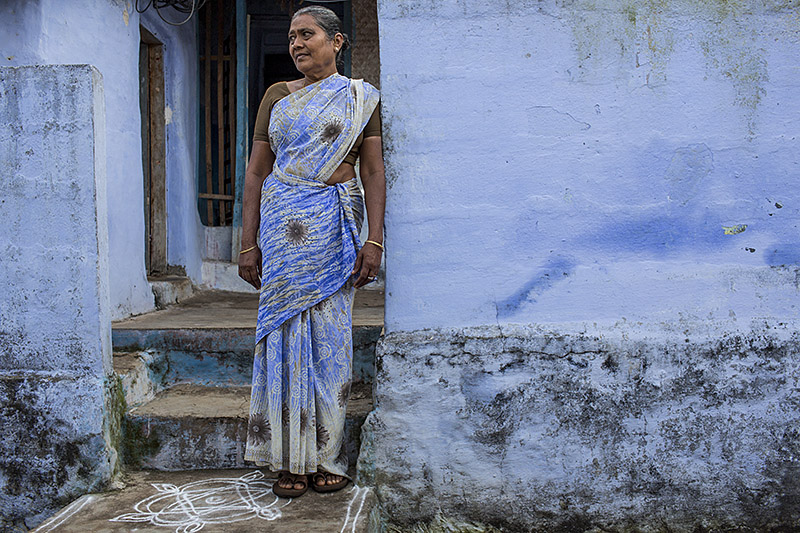 Blue lady_Rajakkad_India_Hagerman_Nov-13