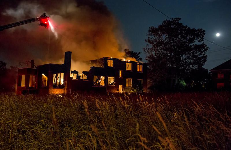 House fire-detroit-hagerman-june 24-2013