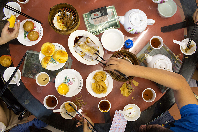 Dim sum_Feast_Hong Kong